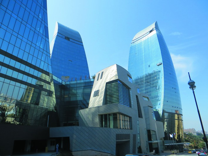 Azerbaijan_Flame Towers 1