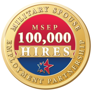 100,000 Hires Military Spouse Employment Partnership