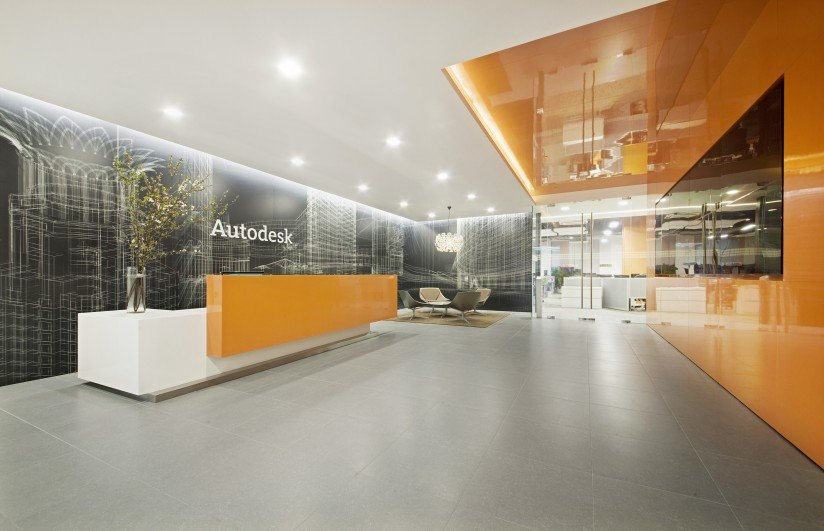 Autodesk shanghai corporate office united kingdom for Office design kazakhstan