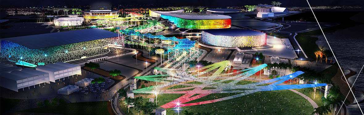 _AECOM_Rio 2016 Masterplan_Night Shot 02