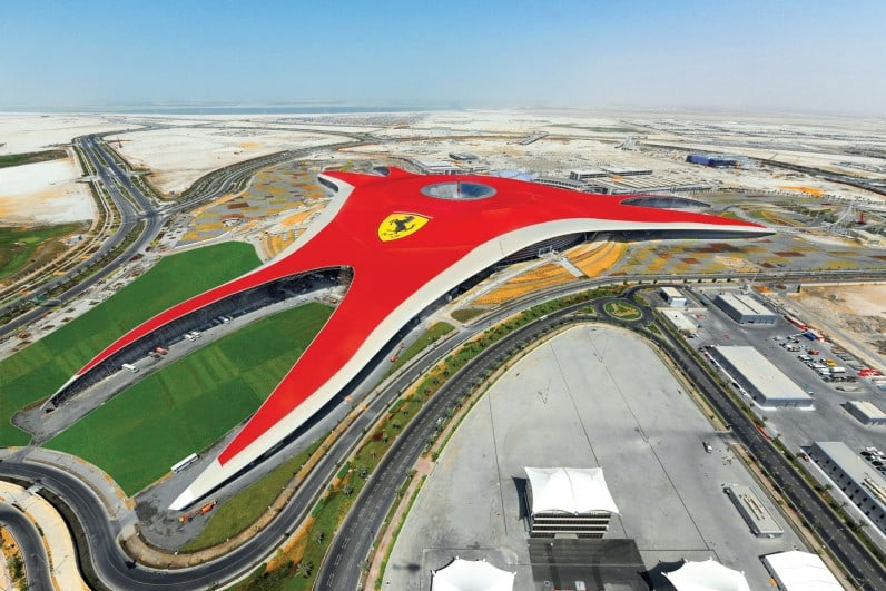 ferrari world abu dhabi 2. Cars Review. Best American Auto & Cars Review