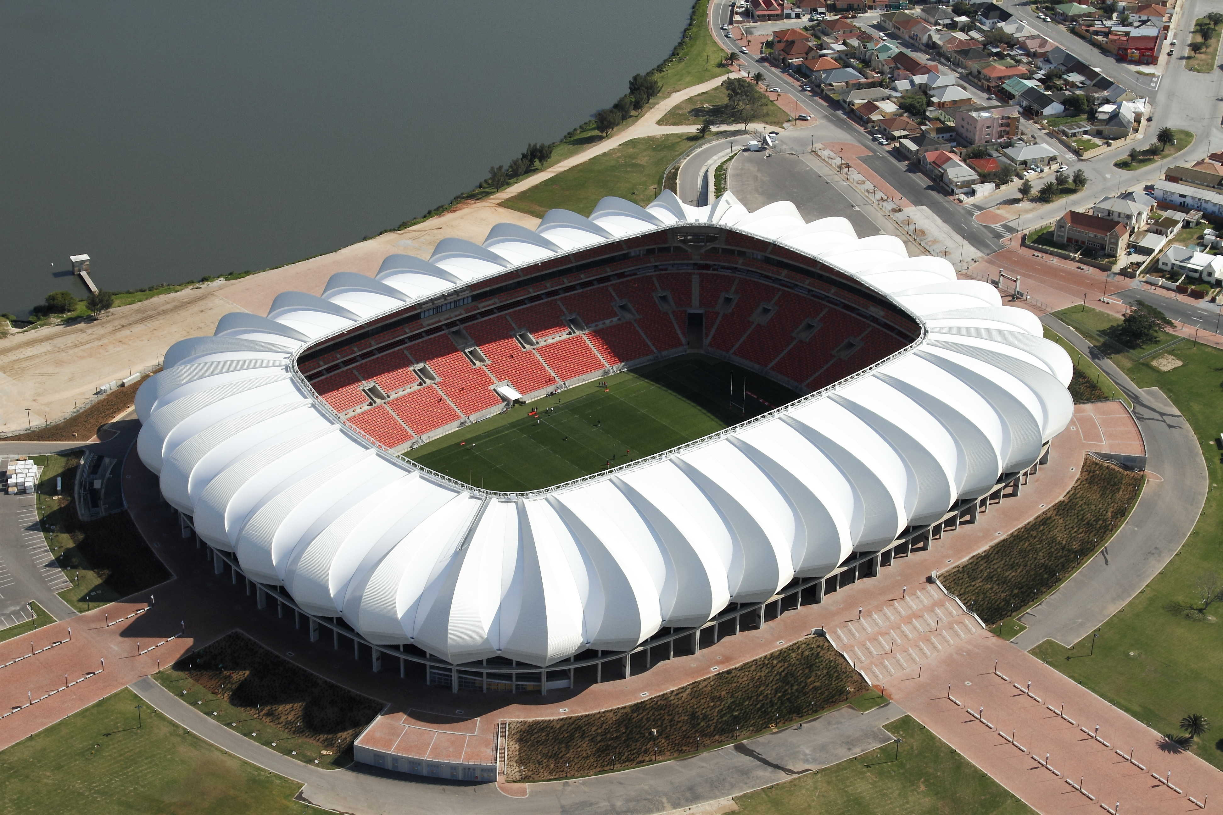 Education stadia and arenas sports and leisure healthcare residential - Nelson Mandela Bay Stadium
