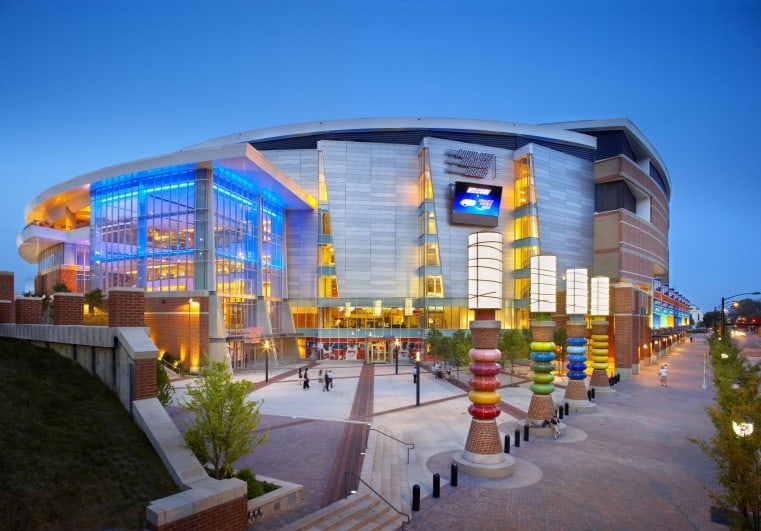 TIME WARNER CABLE ARENA - Projects - Vines Architecture
