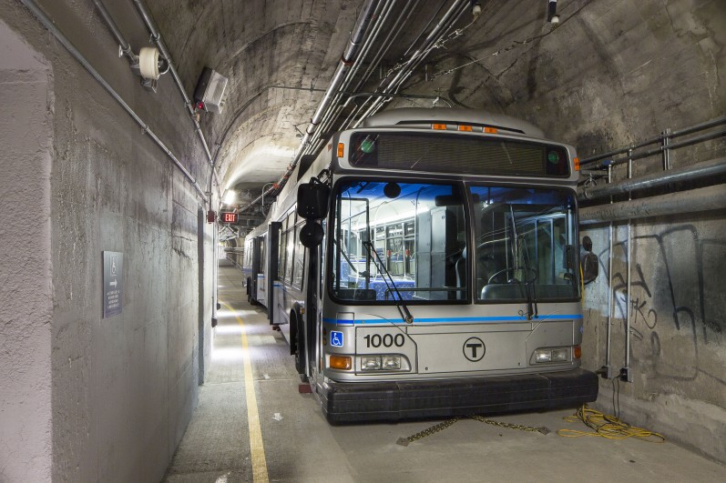 Silver Line Bus Rapid Transit, Massachusetts Bay Transportation Authority