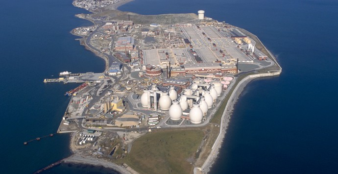 Deer Island Water Treatment Facilities