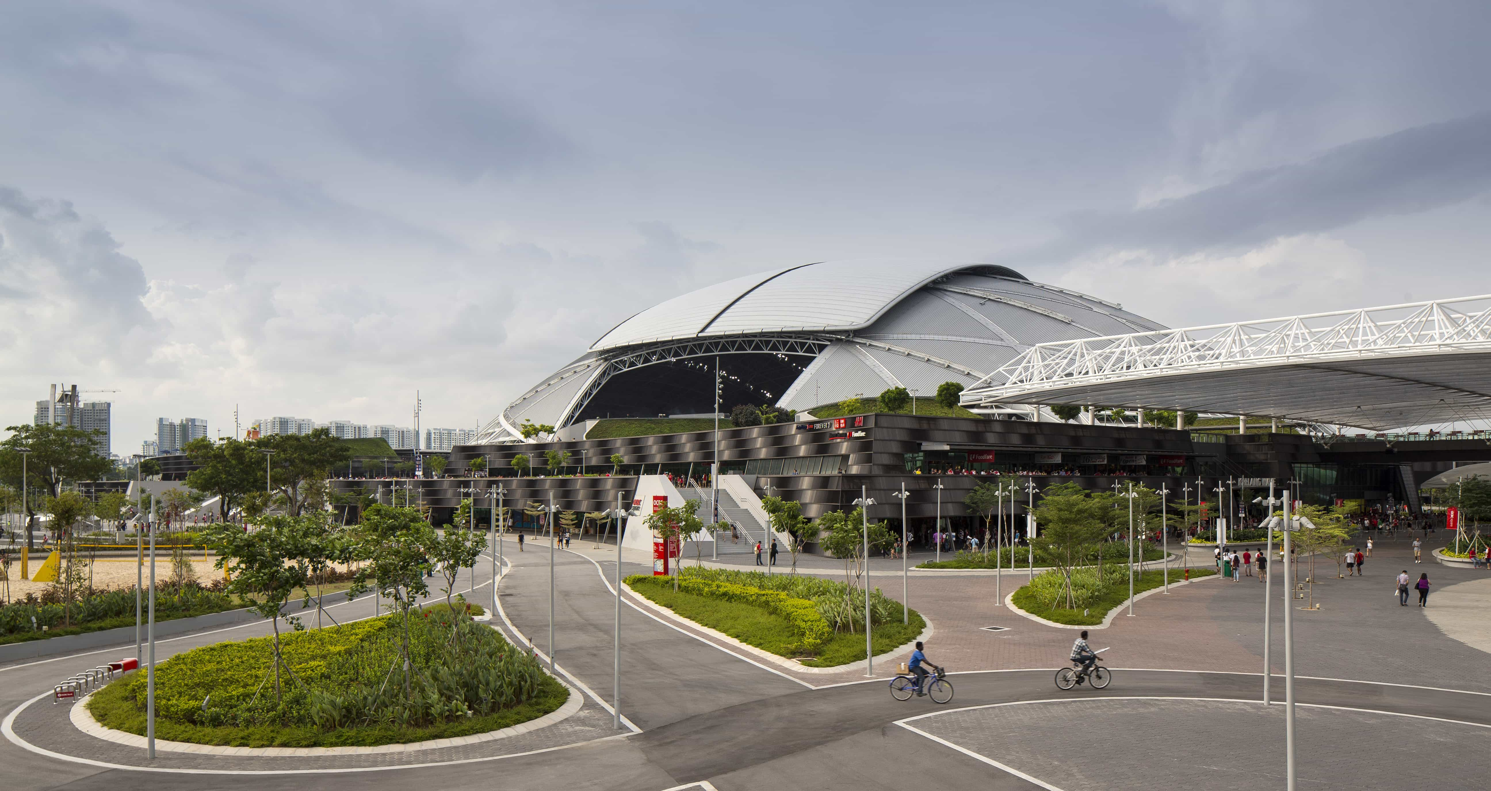 Education stadia and arenas sports and leisure healthcare residential - Singapore Sports Hub