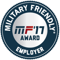 Military Friendly Employers 2017