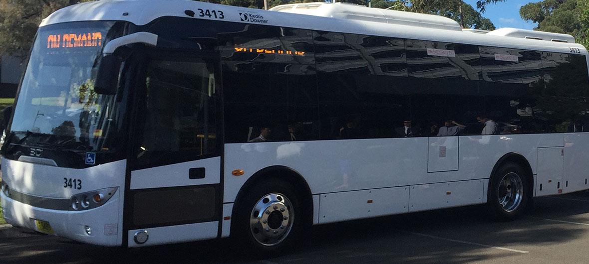 On demand bus trial Macquarie-Park