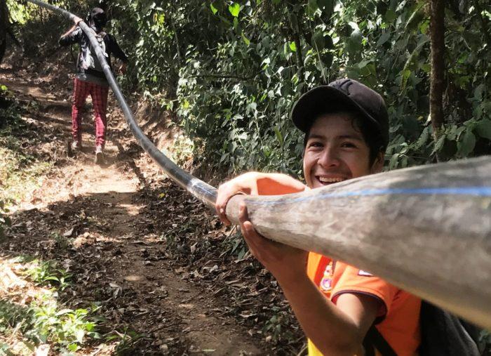 Bringing fresh water to Chacayá, Guatemala