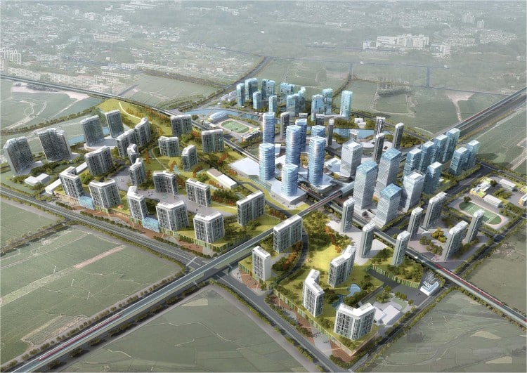 Shenzhen Metro Line 6 Property Development Study