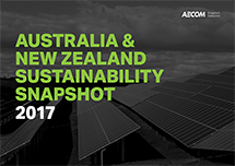 Australia & New Zealand Sustainability Snapshopt 2017