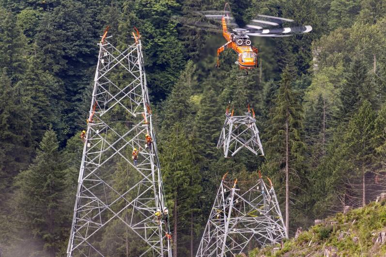 British Columbia Interior Lower Mainland Transmission Line
