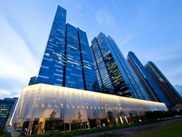 Singapore Asia Square Tower