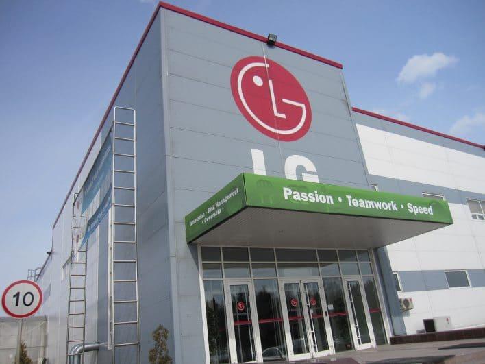 LG Electronics Plant
