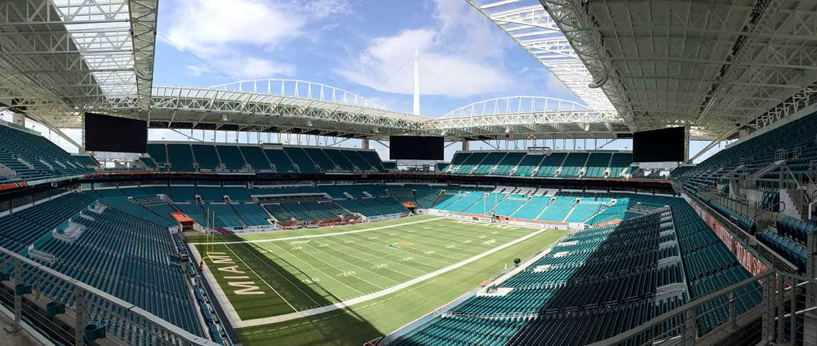 Hard Rock Stadium Renovations Amp Roof Addition