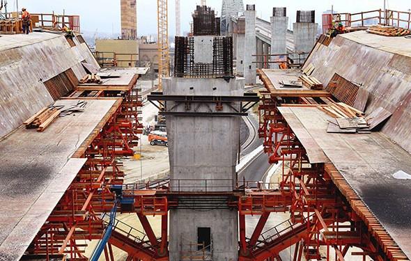 Gerald Desmond Bridge Replacement Construction