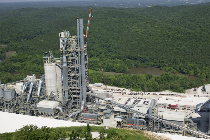 Clinker Cement Plants In Usa : Holcim grassroots cement plant aecom