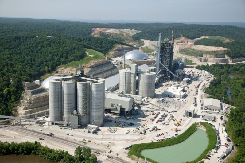 Cement Manufacturing Plants United States : Holcim grassroots cement plant aecom