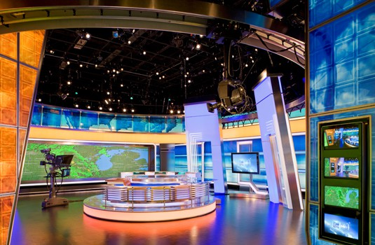 Weather Channel Studio Addition