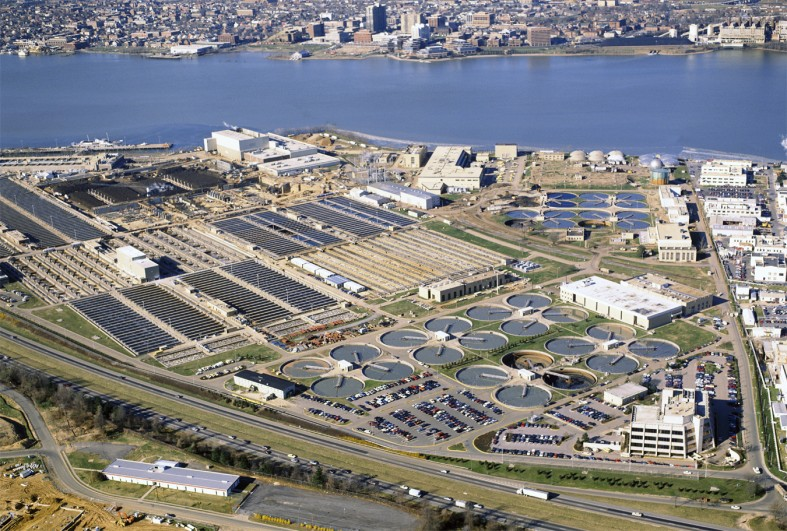 Blue Plains Wastewater Treatment Plant | AECOM
