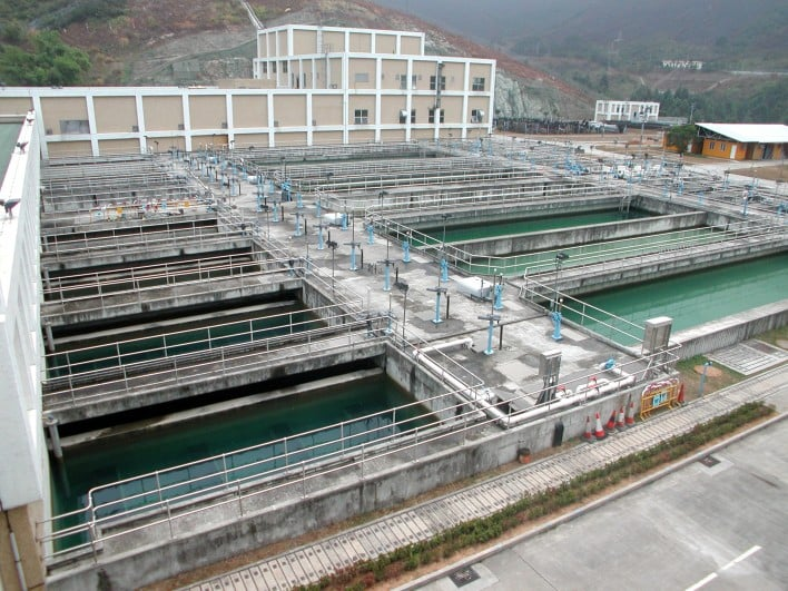 Siu Ho Wan Sewage Treatment Works