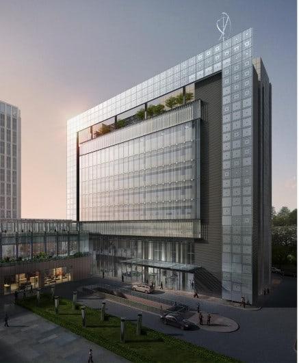Tianjin teda modern service district development and h