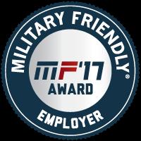 Military Friendly Employers 2017