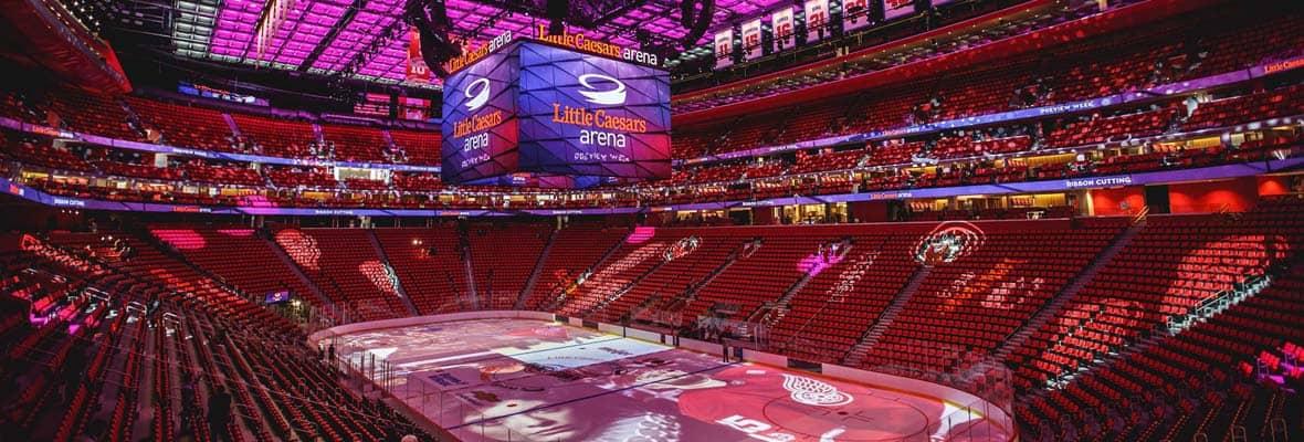 Detroit Red Wings Arena >> Little Caesars Arena