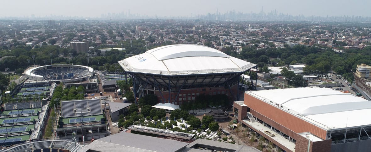 USTA Billie Jean King Stadium, Queens, New York